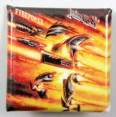 Judas Priest - 'Firepower' Square Badge